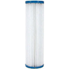 Pleated liquid filter cartridges