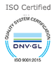 9001 - 2015 Certified Company