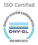 9001 - 2015 Certified Company
