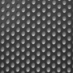 Staggered round hole Perforated Sheet